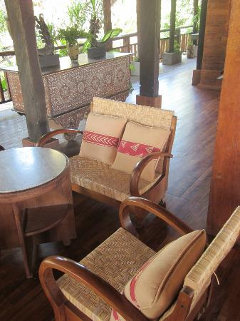 Hotel Puri Bambu: Restaurant