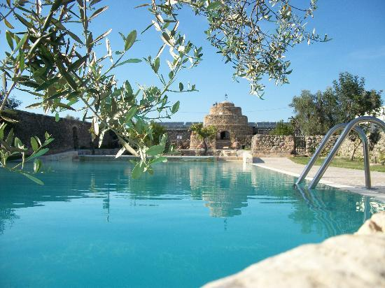 Masseria Bosco: Piscina