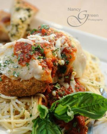 Mamma Mia's Pizza: Chicken Parm Topped w. Mamma's Famous Red Sauce