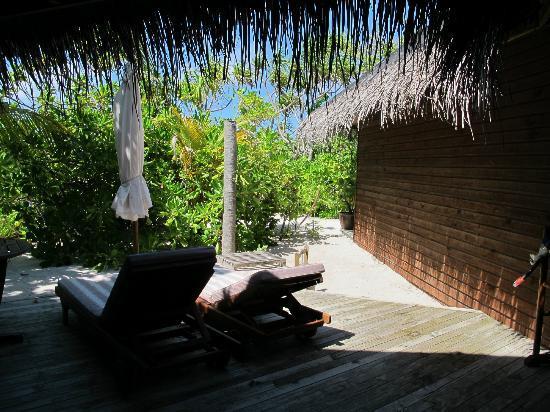 Mirihi Island Resort: El porche