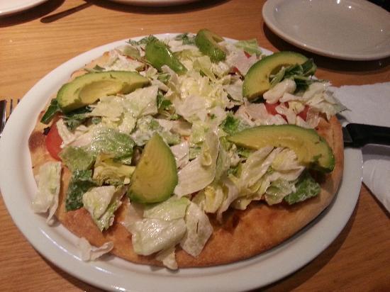 California Pizza Kitchen: California Club pizza.