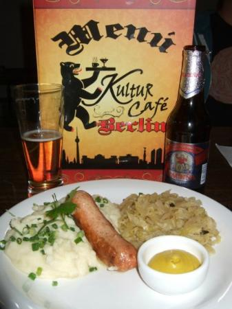 Kultur Cafe: Real German Food - Yummy!!!