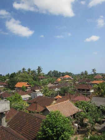 Rumah Roda: View from our top floor bathroom!