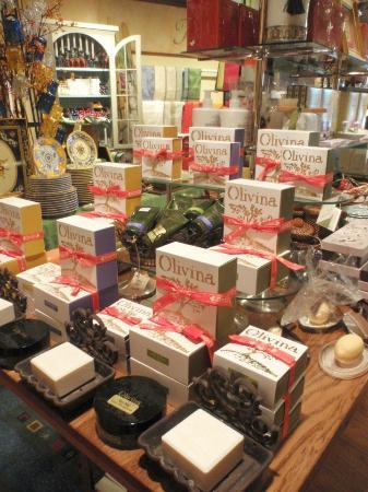 R.H. Ballard Shop & Gallery: Olivina soaps & lotions