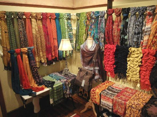 R.H. Ballard Shop & Gallery: European scarves
