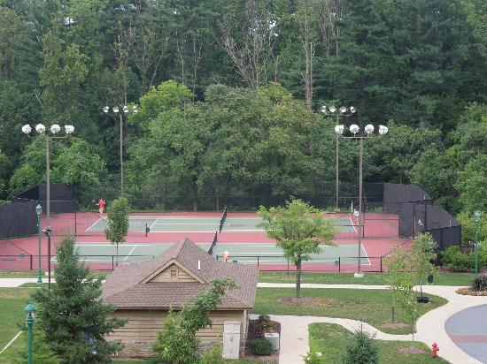 The Hotel Hershey: Tennis courts