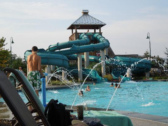 The Hotel Hershey: Pool & slide