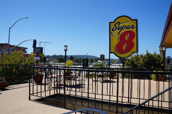 Super 8 Santa Cruz/Beach Boardwalk East: Roof terrace