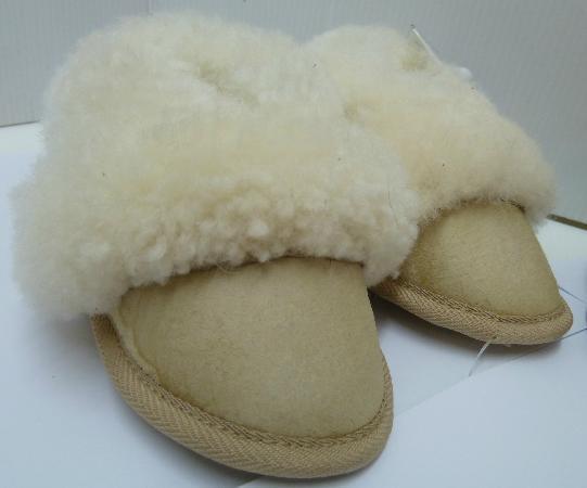 The Elephant House : Sheepskin slippers