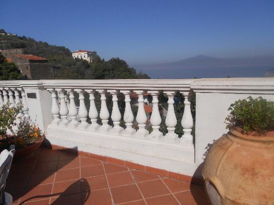 Hotel Iaccarino: la terrazza