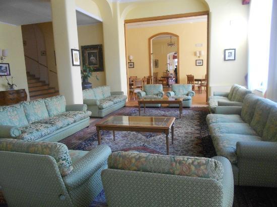 Hotel Iaccarino: la zona conversazione