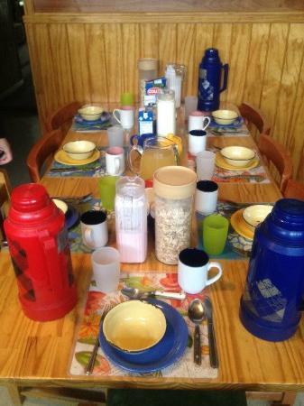 Erratic Rock: Breakfast table