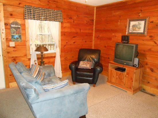 Blue Rose Cabins: comfy for two