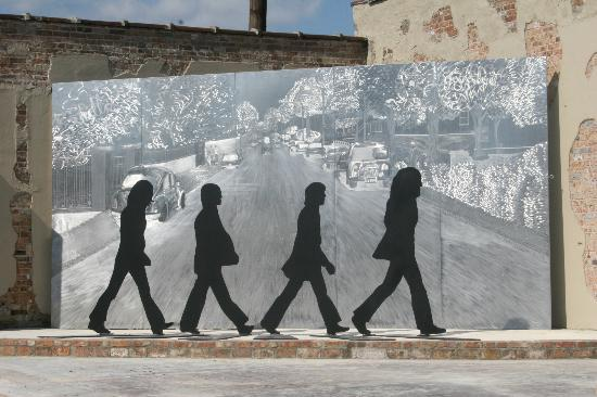 Walnut Ridge, Арканзас: Beatles Park tribute to The Beatles only time in Arkansas