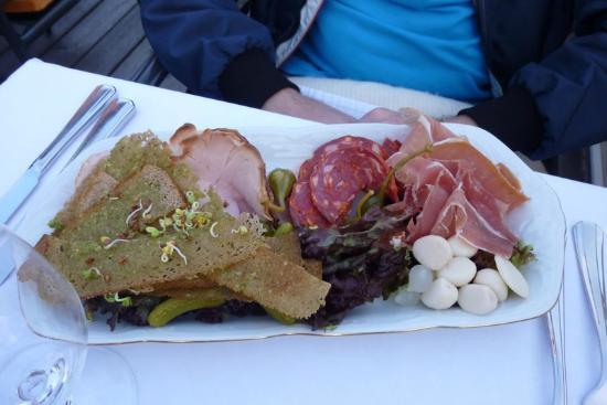 Gutenbergs Terase Restaurant: Antipasto salumi