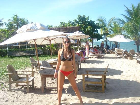 Bossa Nova Arraial Quinta do Porto: Playa del hotel
