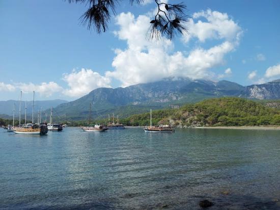 Olimpos Daphne Tatil Evi: Phaselis looking towards Mt Tahtali, near Olympos/Cirali