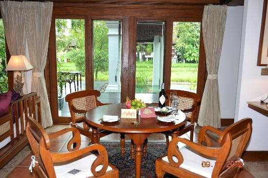 The Dhara Dhevi Chiang Mai: Sitting Room