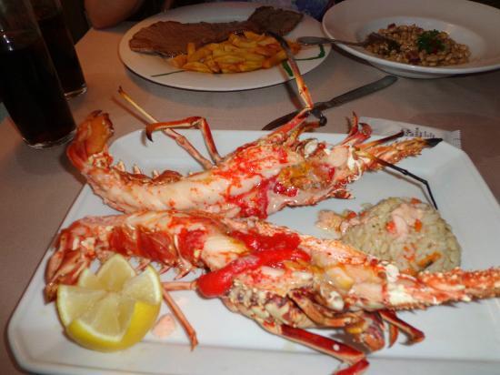 Emperador: Grilled Lobster 38.50 euros