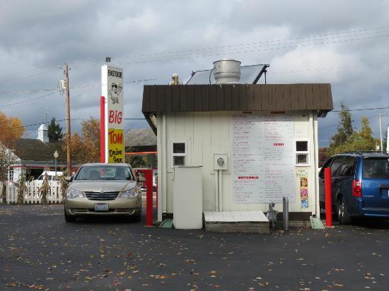 Eastside Big Tom: Big Toms Eastside - drive through on both sides!