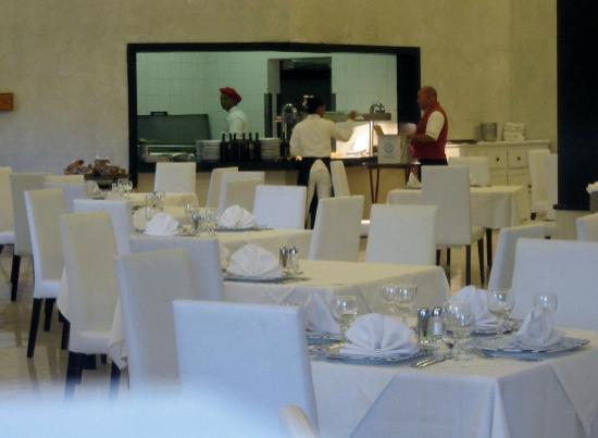Sirenis Punta Cana Resort Casino & Aquagames: Restaurant italien!