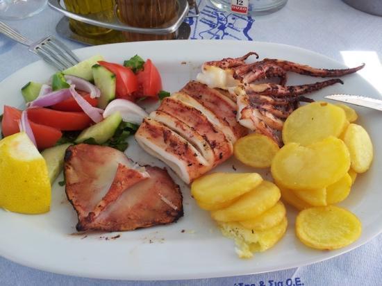 Alexis taverna: calamari