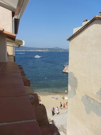 Hotel La Ponche: View from Terrace