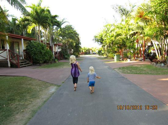 Safe Community Streets Picture Of Big4 Adventure Whitsunday Resort