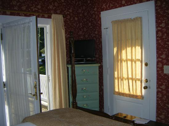 Maine Stay Inn and Cottages: Garden Room