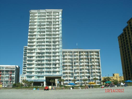 Best Western Carolinian Beach Resort  N Ocean Blvd