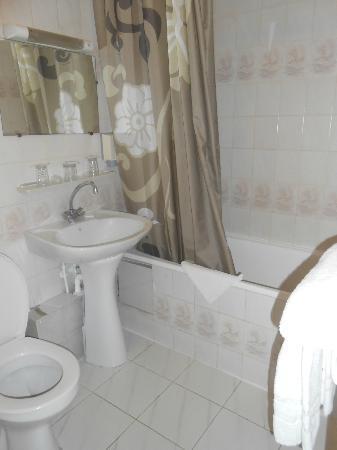 Hotel de Belfort: Salle de bain