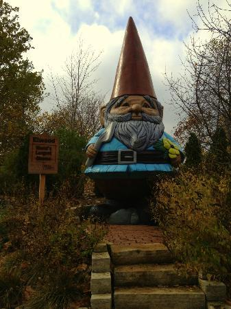 Reiman Gardens: The world's largest gnome