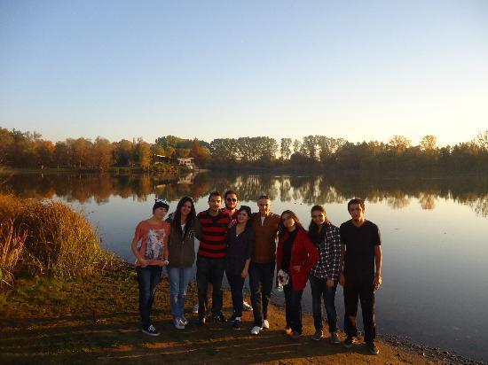 Golf Club Podebrady: with my friends
