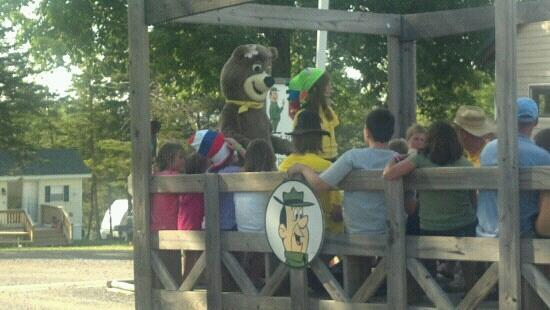 Jellystone Park of Western New York: Kids are still singing the Hey Ride songs!