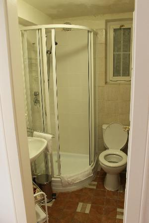 Archibald At the Charles Bridge: Bathroom - small but clean