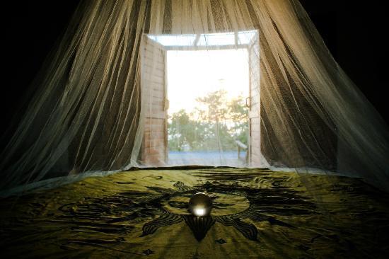Casa Mermejita: cama circular