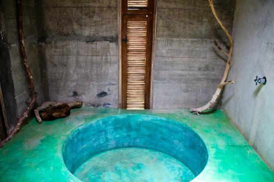Casa Mermejita: la ducha