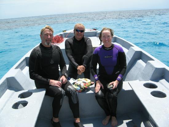 "Mango Creek Lodge: Scuba Diving with scuba instructor ""Leif"""