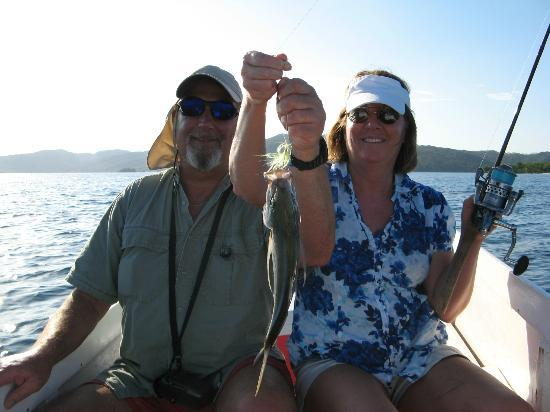Mango Creek Lodge: Catching a Jack