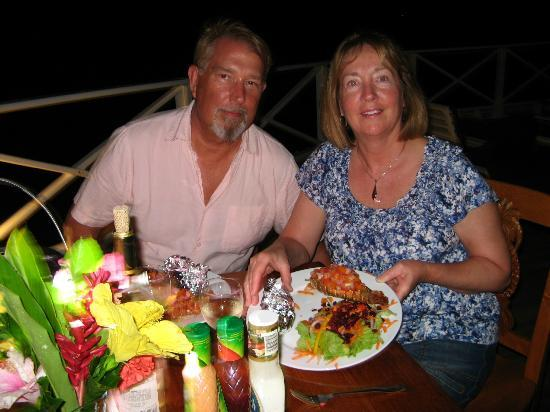 Mango Creek Lodge: Romantic Lobster Dinner