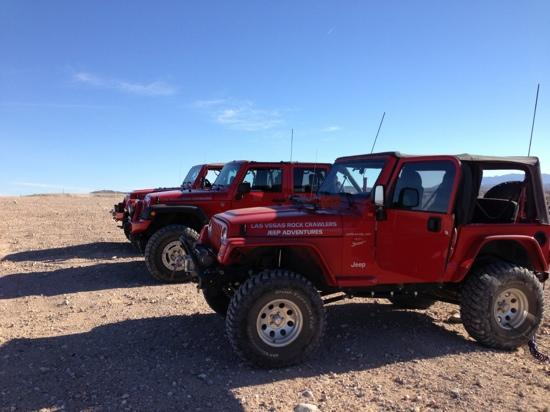 Las Vegas Rock Crawlers: Gentleman, Start your engines!