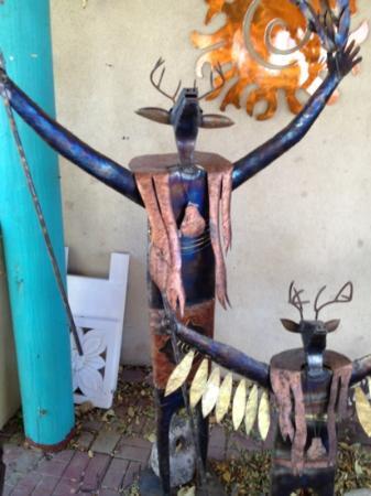 Santa Fe, NM: intriguing figures at XANADU