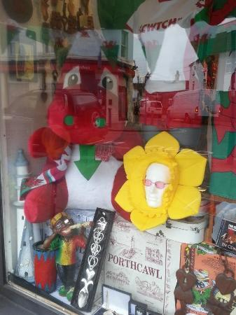 Porthcawl, UK: The Welsh Craft and Gift Shop