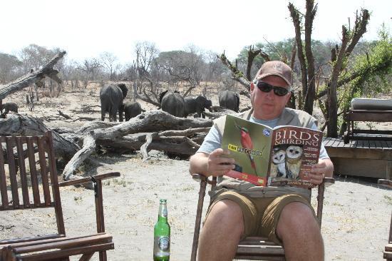 Somalisa Camp : relaxing at camp