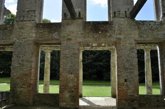 Appuldurcombe House: The shell of the house