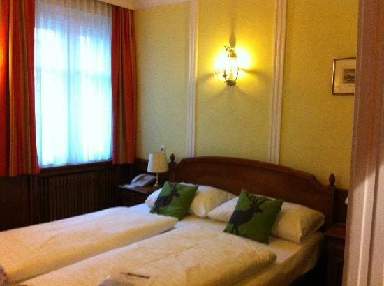 ACHAT Plaza Zum Hirschen: Our room 