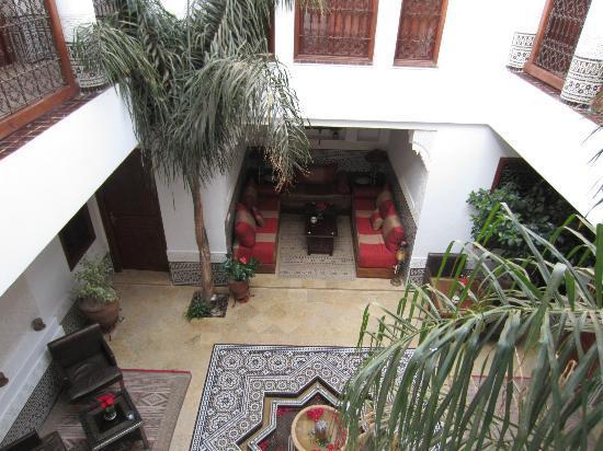 Riad Viva: Courtyard