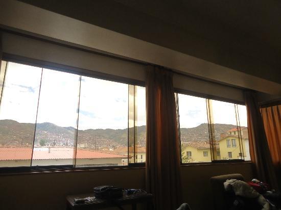 Imperial Cusco Hotel: Vista desde la habitación