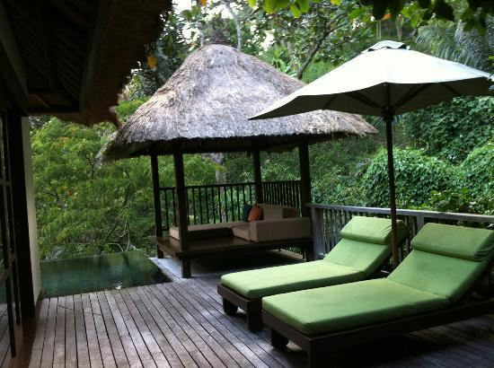 Hanging Gardens of Bali: Bali Hut