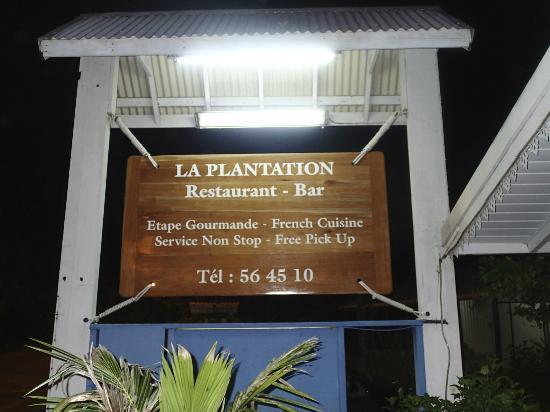 LA PLANTATION DE MOOREA : La Plantation